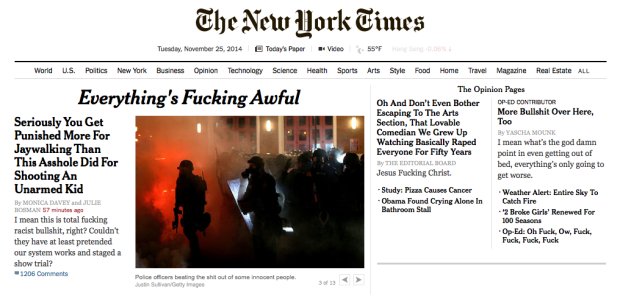 New York Times Mock Up